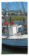 Shrimp Boat - Southern Catch Bath Towel