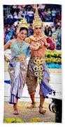 Siam Culture Dance Bath Towel