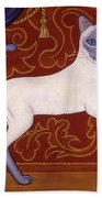 Siamese Cat Runner Bath Towel