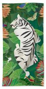 Siesta Del Tigre - Limited Edition 2 Of 15 Bath Towel