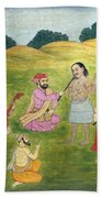 Sikh Painting Bath Towel