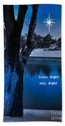 Silent Night Bath Towel