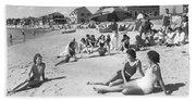 Silver Beach On Cape Cod Bath Towel