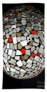 Silver Egg Bath Towel by Eleni Mac Synodinos
