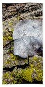 Silver Leaf Bath Towel