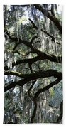 Silver Savannah Tree Bath Towel