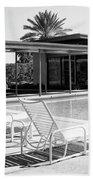 Sinatra Pool Bw Palm Springs Bath Towel