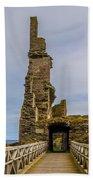 Sinclair Castle Scotland - 6 Bath Towel