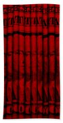 Singles In Red Bath Towel