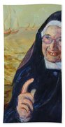 Sister Wendy Bath Towel