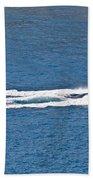 Sit Down Hydrofoil Ski Sport Bath Towel