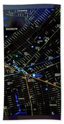 Sites And Subways Bath Towel