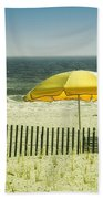 Sitting By The Shore Bath Towel