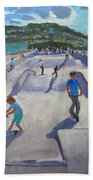 Skateboaders  Teignmouth Bath Towel