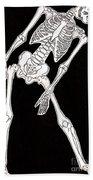 Skeleton Bath Towel