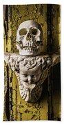 Skull And Angel Bath Towel