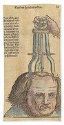 Skull Operation, 1517 Bath Towel