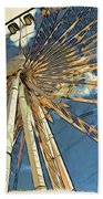Skywheel At Niagara View Bath Towel