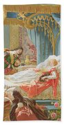 Sleeping Beauty And Prince Charming Bath Towel