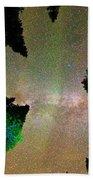 Sleeping Under The  Milky Way Stars Bath Towel