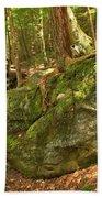 Slippery Rock Creek Bridge Bath Towel