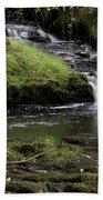 Small Falls On West Beaver Creek Bath Towel
