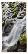 Small Waterfalls In Marlay Park Bath Towel