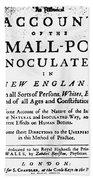 Smallpox: Title Page, 1726 Bath Towel