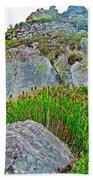Smartweed Just Below Huayna Picchu's Peak-peru  Bath Towel