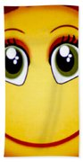 Smiley Sun Hand Towel