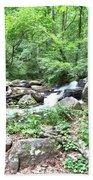 Smith Creek Downstream Of Anna Ruby Falls - 2 Bath Towel