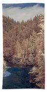Smith River Forest Canyon Bath Towel