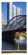 Smithfield Street Bridge Bath Towel