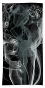 Smoke Skull Bath Towel
