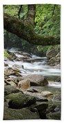 Smokey Mountain Stream. No 547 Bath Towel