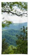 Smoky Mountain View Laurel Falls Trail Bath Towel