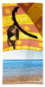 Snorkeling Glasses Bath Towel