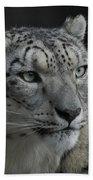 Snow Leopard 15 Bath Towel