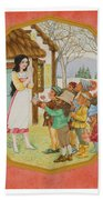 Snow White And The Seven Dwarfs Bath Towel