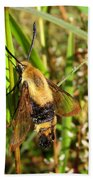 Snowberry Clearwing Bath Towel