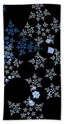 Snowflakes By Jammer Bath Towel