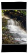 Soco Falls Small Cascade North Carolina Bath Towel
