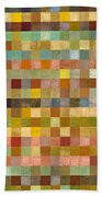Soft Palette Rustic Wood Series Collage Lll Hand Towel
