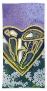 Softened Heart Best Reflections Energy Collection Hand Towel