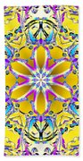 Solar Sunstar Bath Towel by Derek Gedney