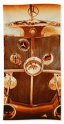Solid Gold Mercedes Bath Towel
