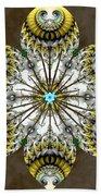 Solitary Bird Of Prey Bath Sheet by Derek Gedney