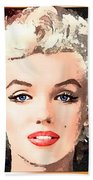 Marilyn - Some Like It Hot Bath Towel