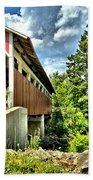 Somerset Glessner Bridge Bath Towel