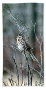 Songs Of Sparrows Bath Towel